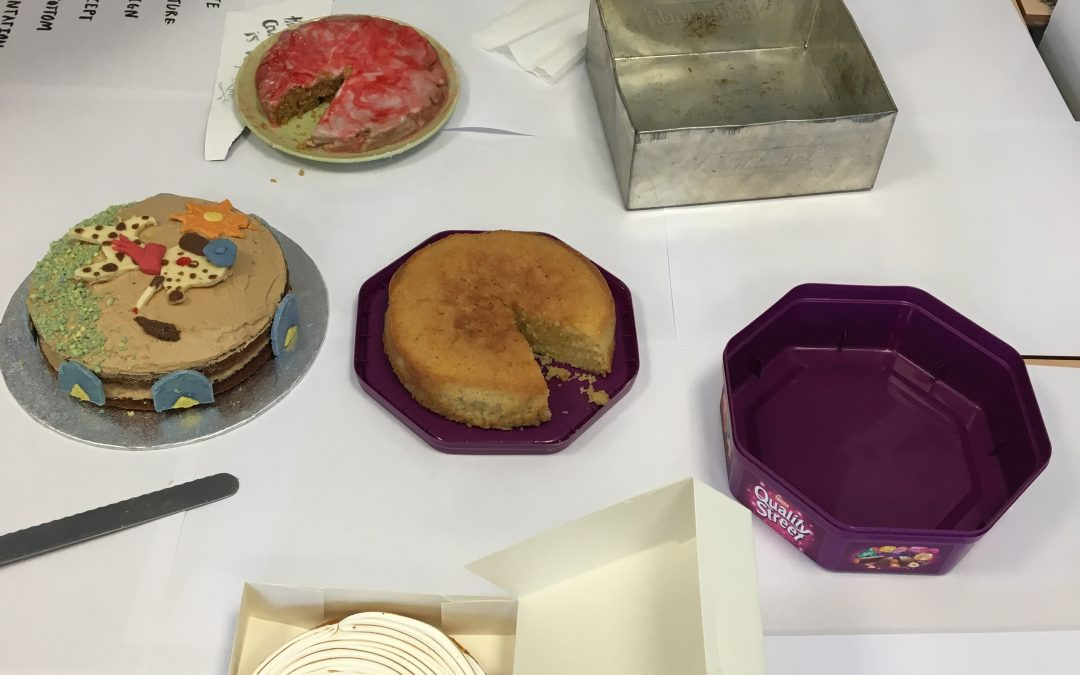 Level 6 Bake a Cake competition
